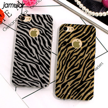 Buy JAMULAR Zebra Leopard Case iPhone 8 7 Plus Cases Bling Glitter Soft Back Cover Case iPhone 6S 6 7 Plus Capa Fundas Coque for $1.89 in AliExpress store