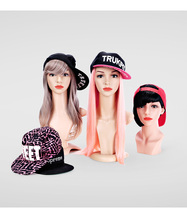 Free Shipping!! Best Quality Hot Sale Plastic Wig Head Mannequin Fashionable Head Model On Promotion