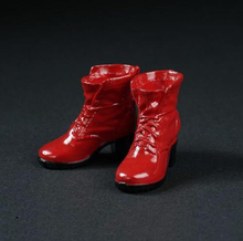 1/6 AS014 Red High Heels Red Boots Scarlet Witch Shoes Models F 12'' Female Figures Bodies(China)