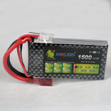 Buy XXKLION Lipo battery 2S 7.4V 1500MAH 25C RC Lipo battery rc boat Helicopter RC Model Car Airplane Multirotor for $12.00 in AliExpress store