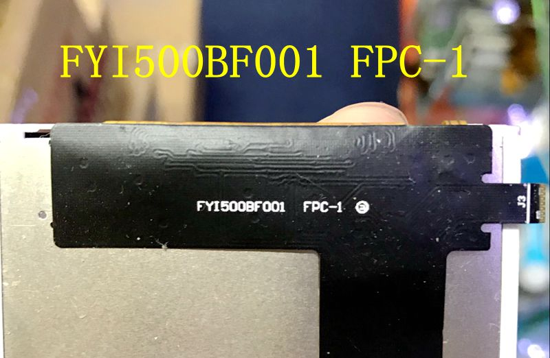 New original FYI500BF001 FPC-1 LCD screen<br>