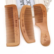 Chinese style wood comb Chinese sandalwood comb for Women
