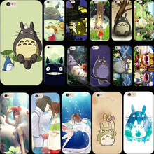 5 5S SE Newest Arrival Silicon Painting Happy Totoro Phone Cover Case For Apple iPhone 5 iPhone 5S iPhone5S Cases Shell Hot Sold