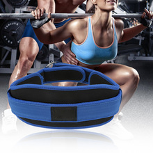 Durable Adjustable Nylon Weight Lifting Belt 26-43inch Thick Waist Support Stainless Buckle Gym Fitness Guard Weightlifting Belt