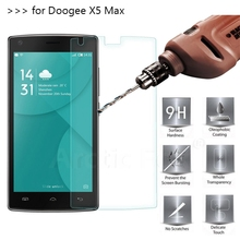 2.5D 0.26mm 9H Premium Tempered Glass Screen Protector Doogee X5 Max Toughened protective film - Shenzhen White fox Trading Co.,Ltd. store