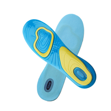 1 Pair Orthotic Arch Support Massaging Silicone Anti-Slip Gel Soft Sport Insole Pad Foot Care For Man Women Size S/L(China)