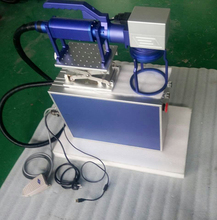 30W fiber laser marking machine with move camera lens