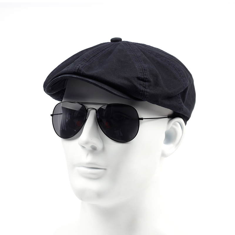 TUNICA Visor-Cap Caps Berets Vintage Hat Flat Cotton Men's Spring Adjustable Fashion title=