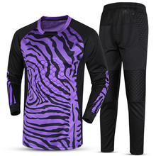 2017 New Quick Dry Boys Kids Youth Soccer Training jersey set suits Goalkeeper Jerseys Survetement football Goal keeper Uniforms
