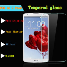 0.26mm For LG G Pro 2 Explosion-proof Tempered Glass Screen Protector Film For LG G Pro2 F350 D837 D838 with Clean Tools