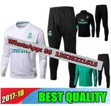 17 18 suits Training jacket survetement Real madrids MODRIC soccer jersey RONALDO MARCELO ASENSIO training football shirts(China)