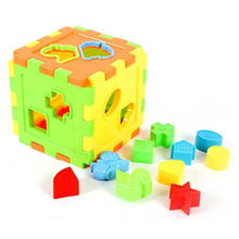Balance Brain Training Model Building Kits 10 Shapes Bricks Matching Sorting Blocks Educational & Recognition Toys For Children