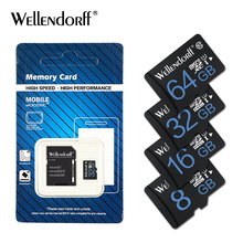 Wellendorff Memory Card Micro SD Card 8GB 16GB 32GB 64gb class 10 UHS-I mini sd card 4GB TF card Class6 microsd tarjeta