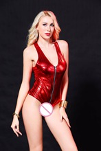 Buy Sexy Costumes Women Langerie Sheer Bodysuit Plus Size Latex Catsuit Pole Dance Outfit Night Clubwear Fantasias Sexy Erotic