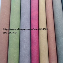 5PCS 21X29CM Synthetic Leather Suede Glitter Leather Fabric for DIY accessories sofa handbags and shoes 4S23(China)