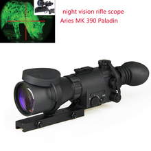 Factory manufacture night vision riflescope 4x monoculo for hunting Aries MK 390 Paladin GZ270010(China)