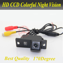 HD waterproof backup reverse parking car rear view camera for Audi A4L/Audi TT/Audi A5/Audi Q5(China)