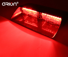 CIRION 16 LED 48W 18 Modes Police Fireman Strobe Light Dash Windshield Emergency Lamp Red Color traffic signal light
