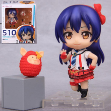 510# GCS Sonoda Umi Q version anime Love Live! Nendoroid Decorate cartoon figure cute box-packed collection kids toy T7235(China)