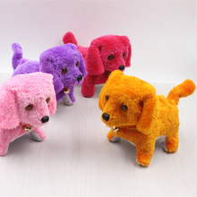 Lovely Cute Glowing Electric Doll Plush Dog Toys Mini Animal Baby For Children Soft Body Toy Stuffed Dolls Brinquedos 50T0156