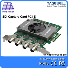 2017 Hot Selling SDI Capture SD/HD/3G SDI Video Capture Card PCI Express x4 1080p 60fps laptop Magewell Pro Capture Quad SDI(China)