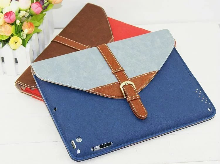 Fashion PU Leather Case Stand Cover for iPad Mini 123 Case Cover Wake up/sleep 360 rotating Tablet Cover Case+Screen Film+Gifts<br><br>Aliexpress