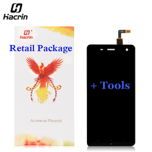 hacrin For Xiaomi 4 Mi4 Lcd Screen High Quality Lcd Display+Touch Panel With Free Tools For Xiaomi4 M4 MI4 Samrt Phone(China)