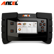 Ancel FX4000 OBD2 Full System Automotive Tools Check Engine ABS Airbag SRS EPB Transmission Oil Reset Car Diagnostic Scanner(China)