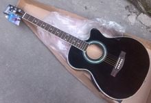 promotion electric acoustic guitar free shipping thin body(China)