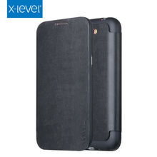 X-Level FIB Color For Samsung Galaxy Note II Leather Flip Cover for Samsung Galaxy Note 2 N7100 Bussiness Leather Wallet Case(China)