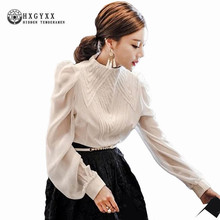 Buy 2018 Spring Women Fashion Black white Pleat Blouse Ladies Elegant Tops Clothing Shirts Tops Female Clothes Blouses Shirt okb517 for $20.09 in AliExpress store