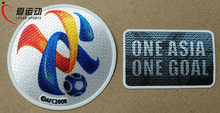 2017 Asian Champions League Soccer patches one asia one goal ACL Patches Set 2017