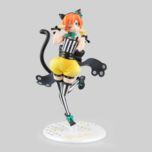 Love Live Rin Hoshizora Lovely Cat Action Figure Model Toy Miniature Figurine Decoration Craft For Home Garden Decor Gift LL08(China)