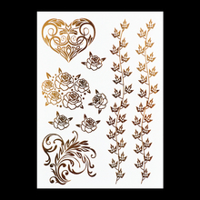 #HT-3 Hair Tattoo Party Items and Hair Accessories, Newest Metal Tattoos! Hot Sale Flash Tattoo. Freeshipping