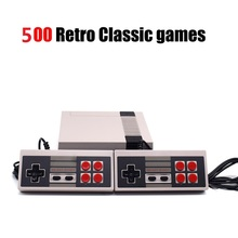 Retro Classic handheld game player Family TV video game console Childhood Built-in 500 Games For nes(China)