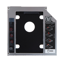 magnesium alloy 2nd 9.5mm SATA HDD SSD Hard Drive Caddy Bay for Mac Book pro Notebook hard disk drive bay