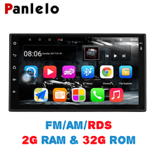 "Panlelo S10 Plus 2 Din Android 7.1 Auto Stereo 2g + 32g 7 ""1080 p Autoradio Quad core Android Head Unit GPS Navigatie Audio Radio(China)"