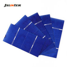 JLINTER 0.5V 0.55W 78x39mm Battery Solar Polycrystalline Silicon Solar Cells diy Power Charger for Mobil Phone(China)