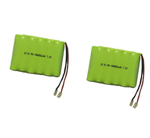 2X MasterFire Brand New 7.2V AAA 800mAh Ni-MH Battery Rechargeable Batteries Pack(China)