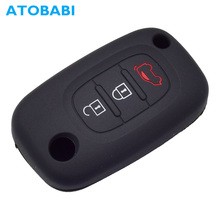 Car Accessories Silicone Car Key Case Remote Keychain Shell Protector Cover Mercedes Benz Smart City Fortwo Forfour Roadster