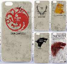 "Soft TPU Hard Plastic Game Thrones Retro Classic Family Flag Mobile phone case for iphone6 4.7 inch For iphone 6 plus 5.5"" cases"