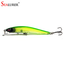 Sealurer Brand Lifelike Popper Fishing Lure Hard Bait Medium Diver Tight Wobble Slow Floating 7.5g 9cm 5Color Crankbait Swimbait