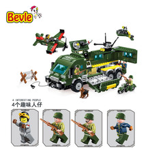 Bevle Enlighten 1709 Military Series Fighter Attacke Armored Cars Building Block Compatible With Lepin SWAT Toys