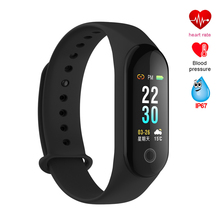 Buy Smart Wristband Fitness Bracelet Band Watch Color Screen Heart Rate Tracker Blood Pressure Smart Bracelet Band PK Mi Band 3 for $17.09 in AliExpress store