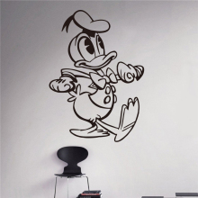 Creative New Donald Duck nephew Costume Kids Name baby wall stickers for kids rooms home decoration wall stickers # T197
