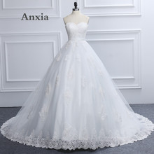 Buy Robe De Mariage Anxia New Style 2017 Luxury Sweetheart White Lace Wedding Dress Real Picture Bride Gown Vestido De Noiva for $181.92 in AliExpress store
