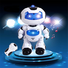 educational toy robot remote control model toy robot can jump cool dance and music singing and dancing toy for kid best gifts