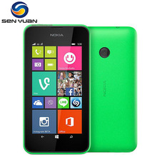 Original Nokia Lumia 530 unlocked phone  Quad Core 4GB ROM 512MB ROM 5MP Camera 3G WIFI GPS WCDMA Cell Phone Freeshipping