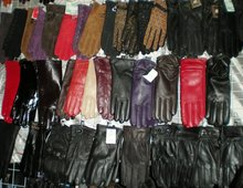Womens' 100% Real Leather Gloves goat Leather skin gloves LEATHER GLOVES Womens 10pairs/lot