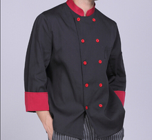 Men Chef Clothing Hotel Restaurant Pastry Chef Clothing Long Sleeve women Chef Uniforms Clothes